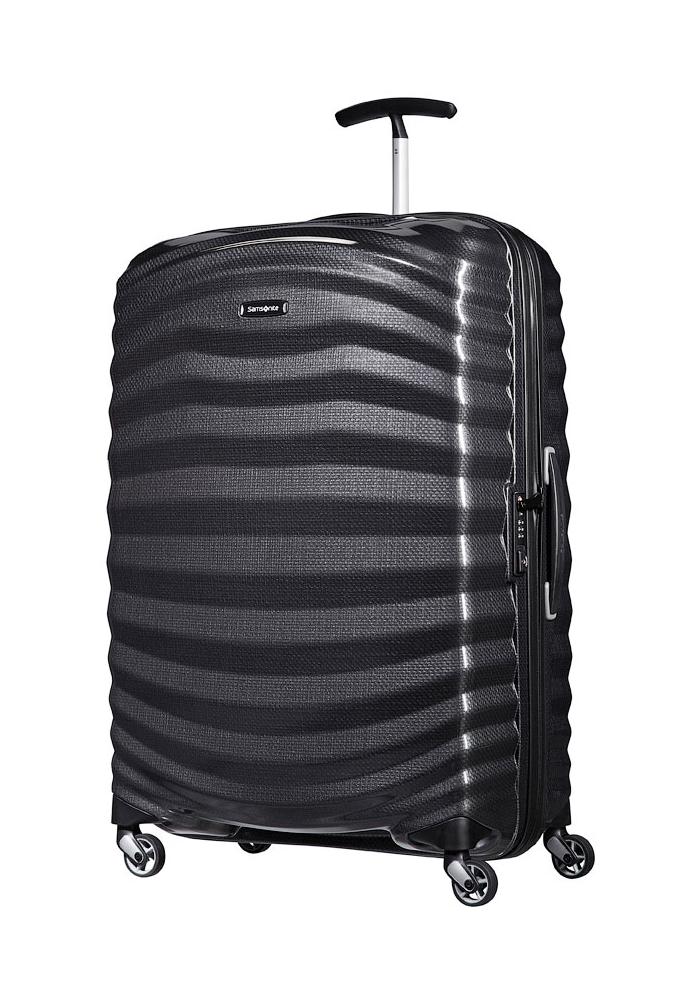 Samsonite Lite-Shock 75cm Suitcase in Black