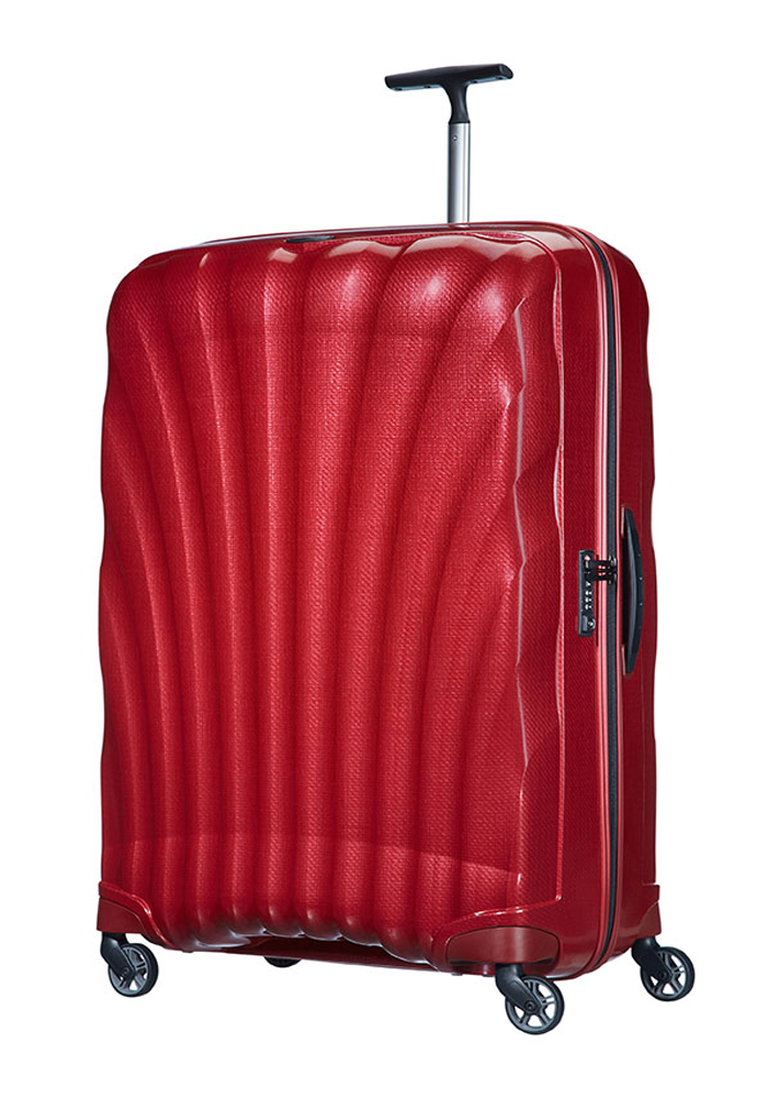Samsonite Cosmolite 86cm Suitcase in Red