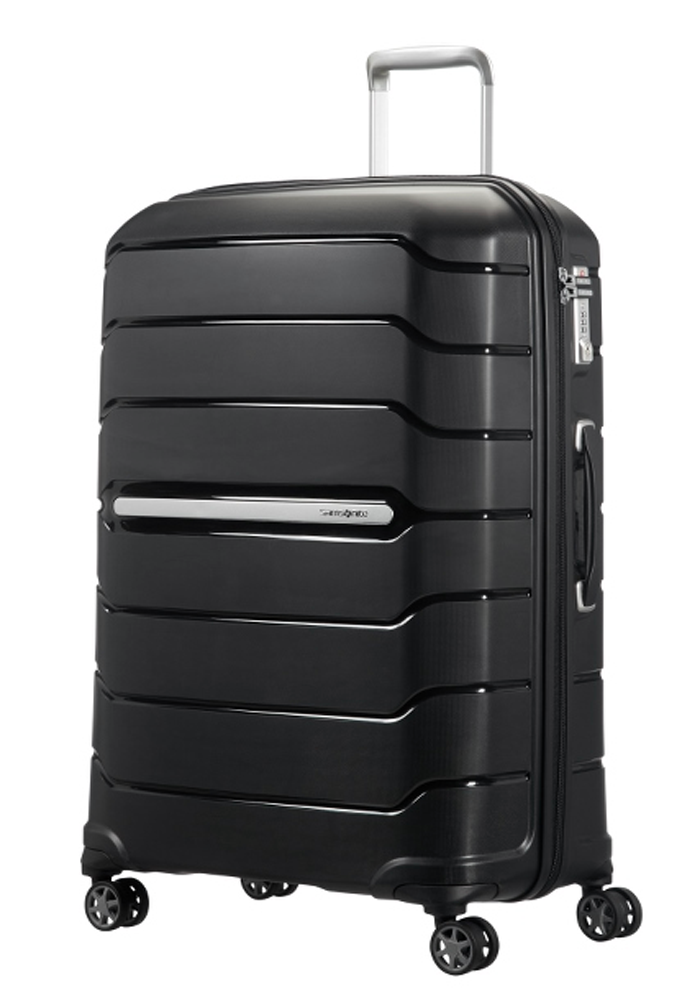 Samsonite Flux 75cm Spinner Suitcase in black