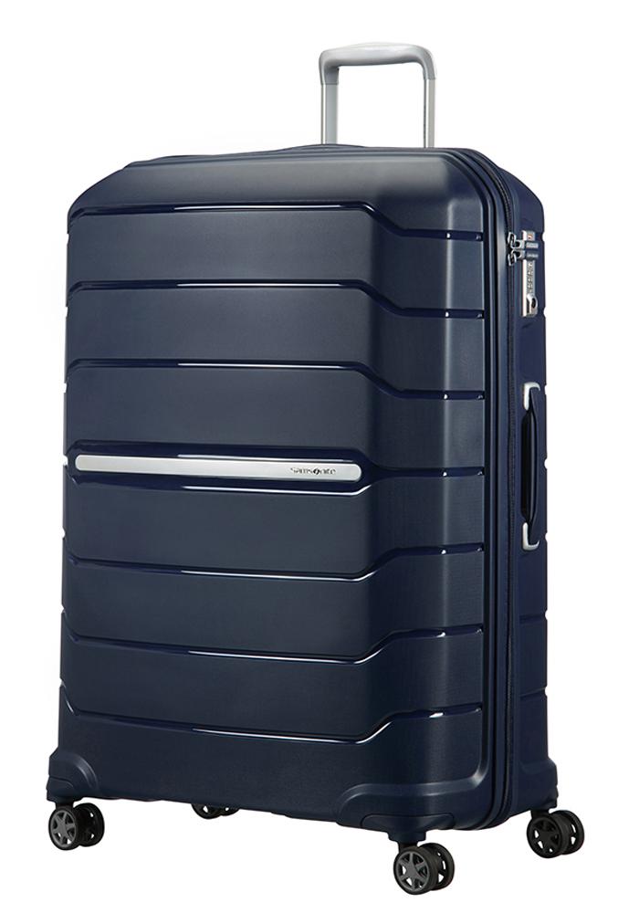 Samsonite Flux 81cm Spinner Suitcase in Navy Blue