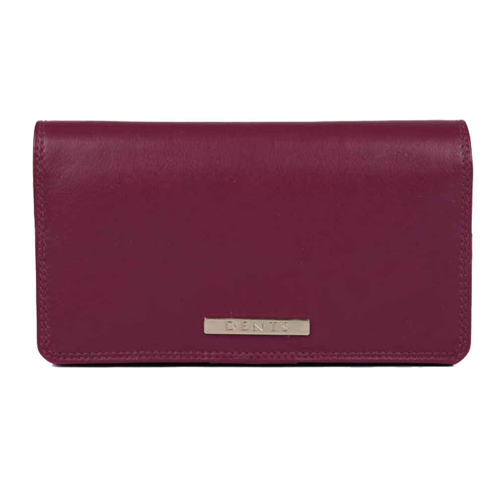 Dent Large Fuchsia Leather Purse