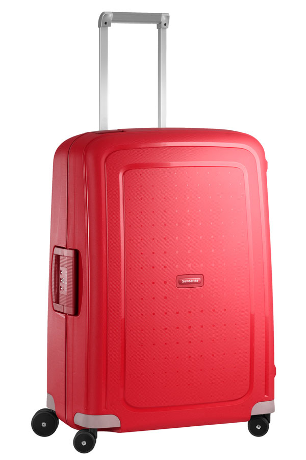 Samsonite S-Cure 69cm, in the colour crimson red