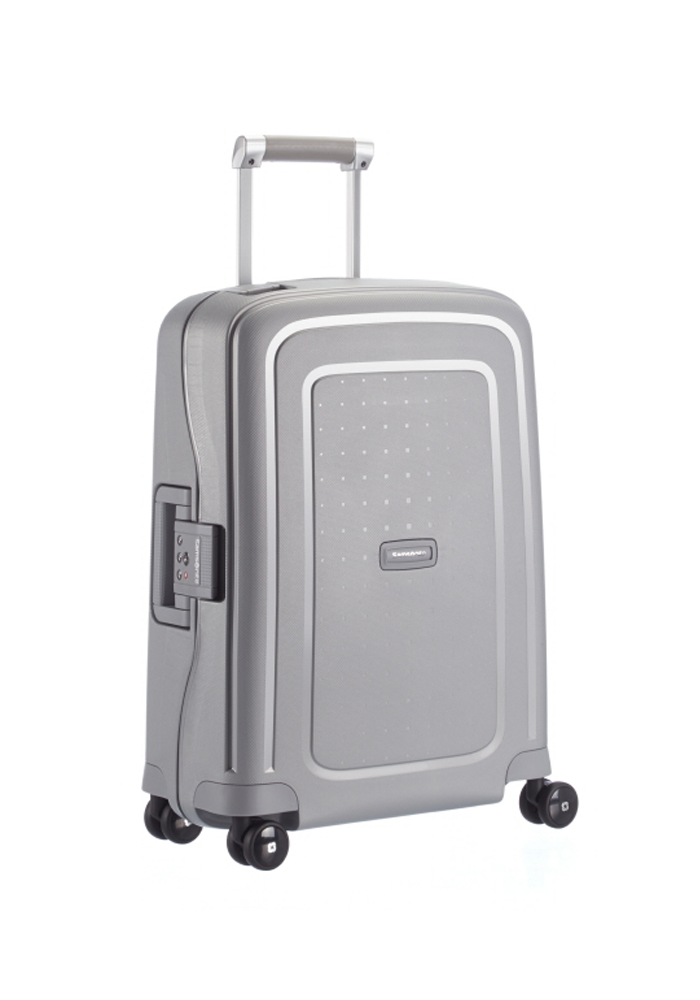 Samsonite S-Cure 55cm in the colour Silver