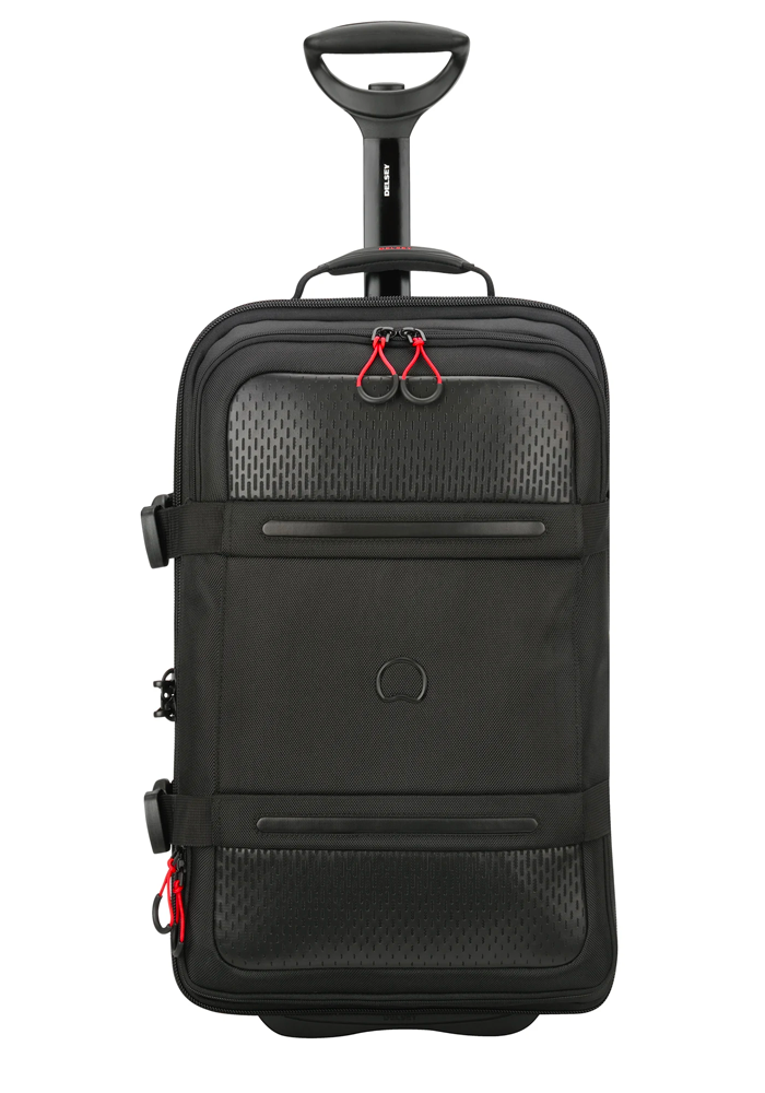 A Black 55cm Delsey Montsouris Suitcase