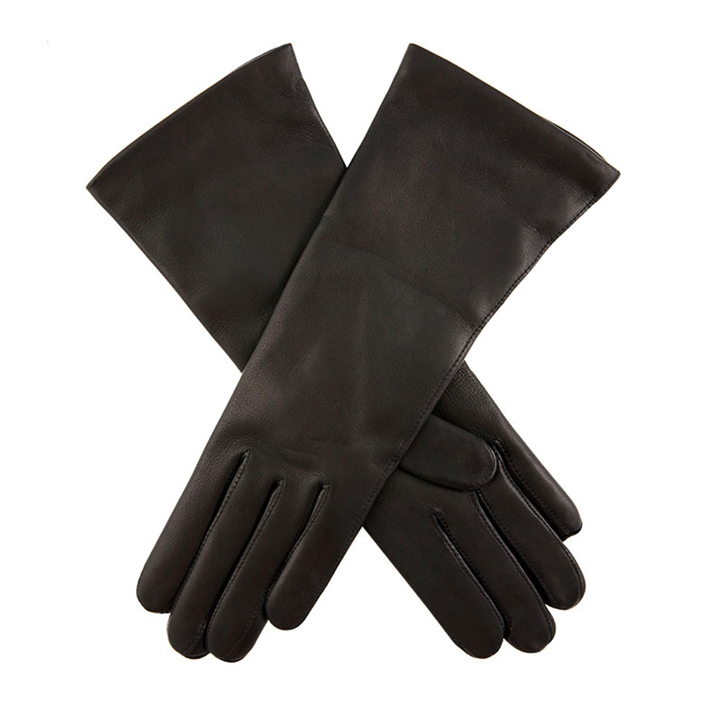 Dents Helene Ladies Leather Gloves in Black