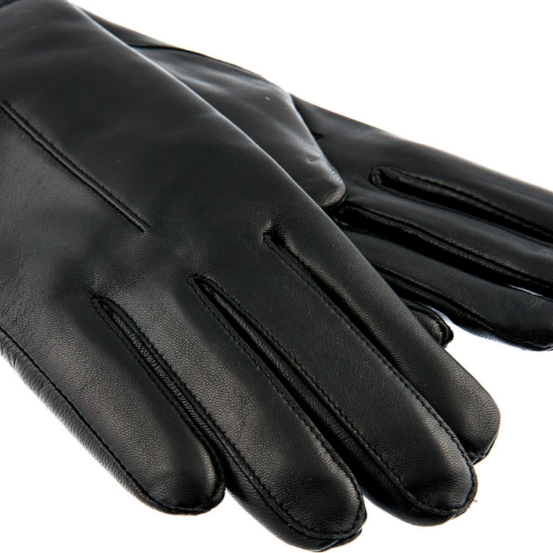 The Fingers of a pair of Black Dents Samantha Gloves