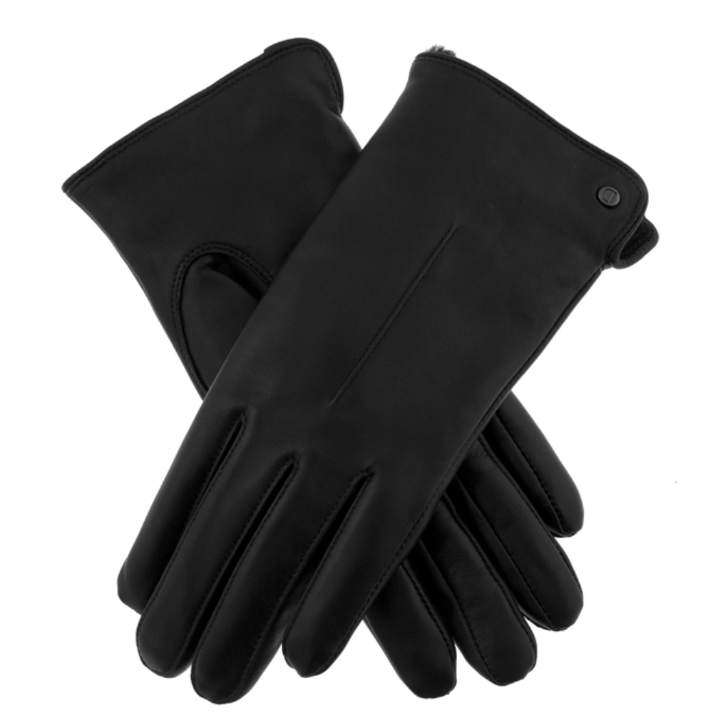 Dents Samantha Ladies Leather Gloves in Black